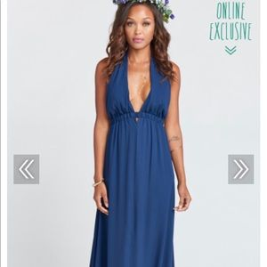 Luna Halter Dress